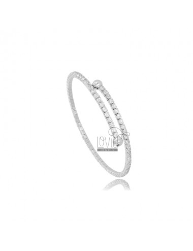 RIGID TENNIS BRACELET WITH...