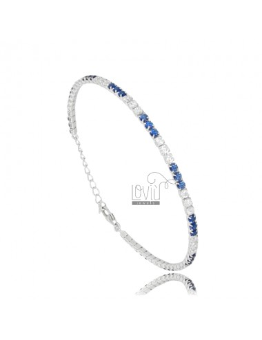 TENNIS BRACELET WITH WHITE...