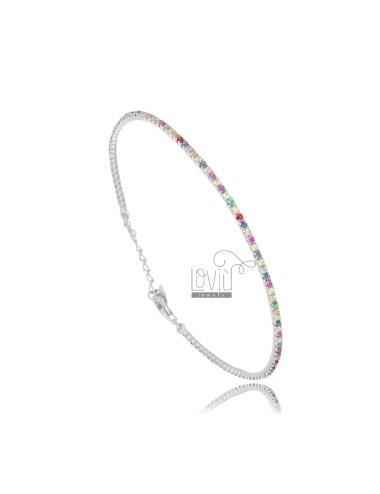 Tennis bracelet with...