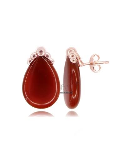 Lobo earrings drop of...