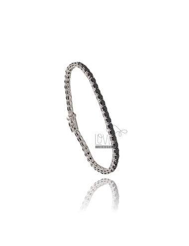 Tennis bracelet 3 mm in...