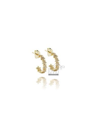 Hoop earrings mm 10 with...