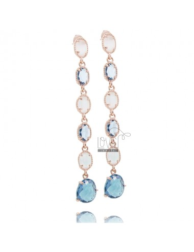 Pendant earrings mm 70 with...