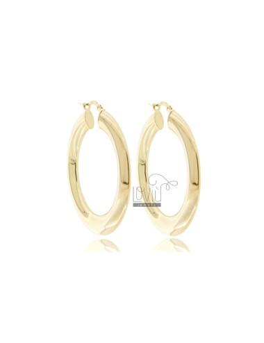 Hoop earrings diameter 25...