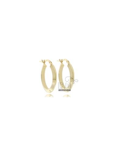 Hoop earrings diameter 15 a...