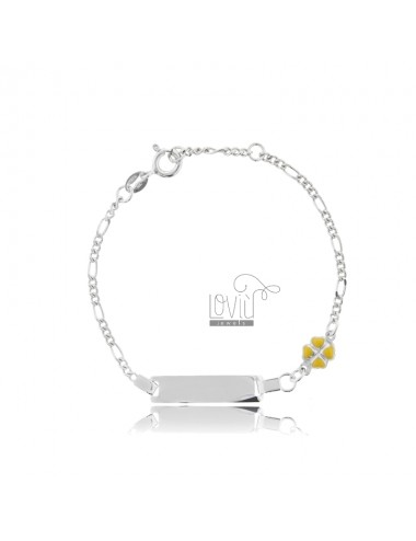 FIGARO BRACELET WITH PLATE...