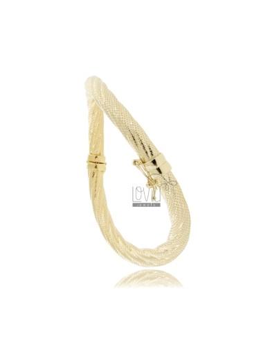 Rigid bracelet in round...
