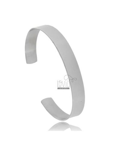 Rigid steel bracelet...