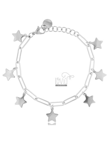 Bracelet with pendant stars...