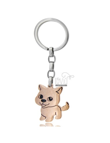 Key ring with cat in...
