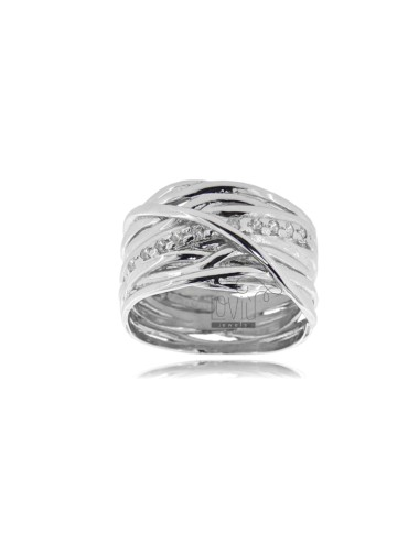 RING INTRECCI IN SILBER...
