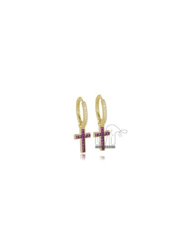 Hoop earrings diameter 10...