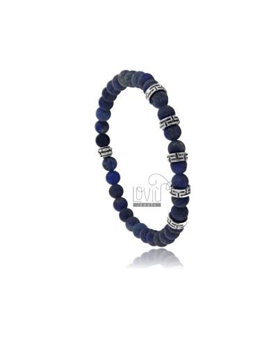 Elastic bracelet in steel...
