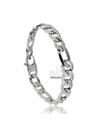Figaro bracelet 10 mm in...