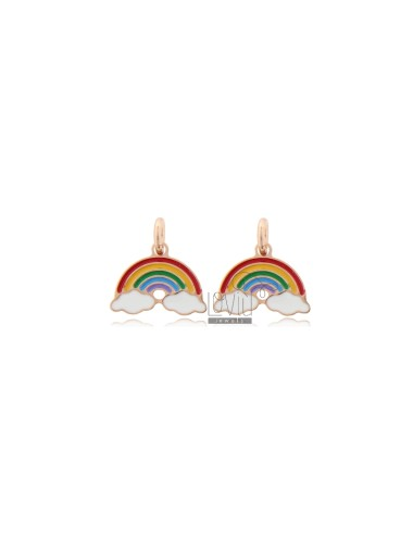 Small rainbow pendant pcs 2...