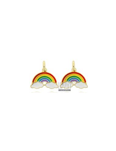 Colgante arco iris pequeño...