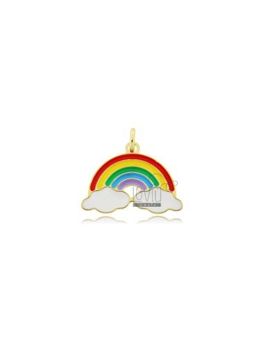 Colgante grande arco iris...