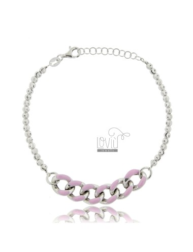 Bracelet with faceted...