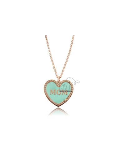 Micro rolo necklace with...
