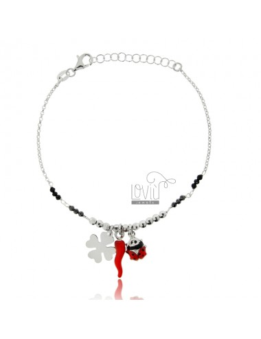 Bracelet with horn,...