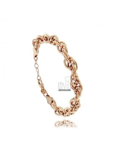 Empty rope bracelet 7 mm in...