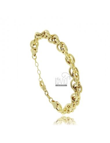 Empty rope bracelet 7 mm...