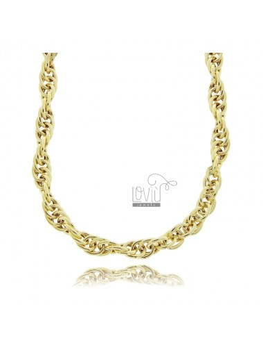 Empty rope necklace 7 mm...