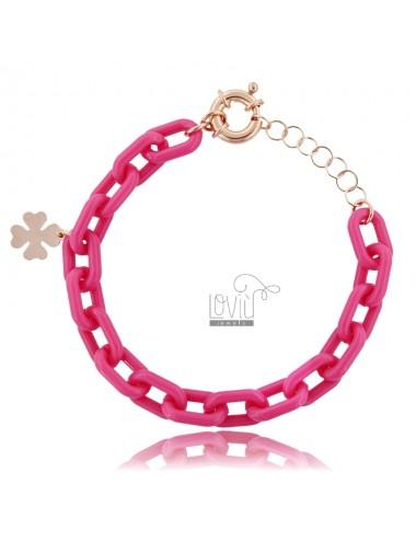 Bracelet in resin and...