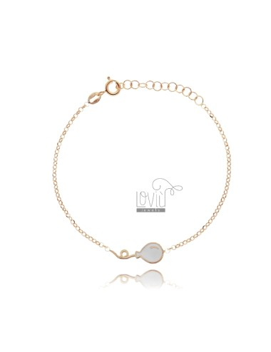 Rolo bracelet with balloon...