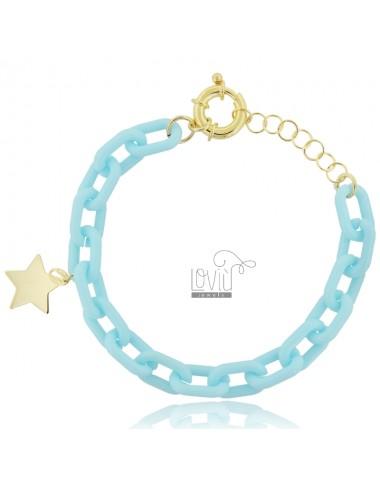 Bracelet in resin and star...