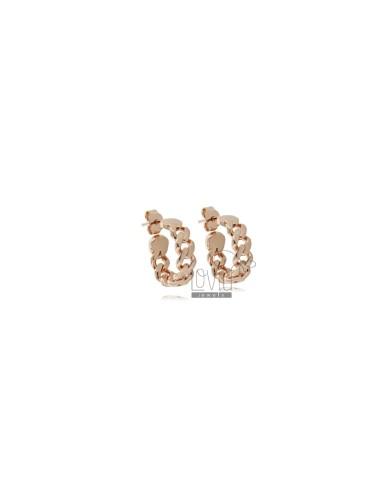 Hoop earrings diameter 15...
