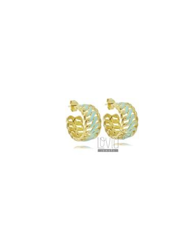 Hoop earrings diameter 13...