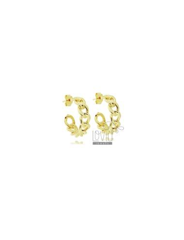 Hoop earrings diameter 18...