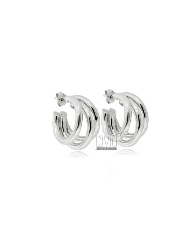 3-wire hoop earrings...