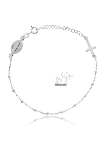 Kabel rosarium armband mit...