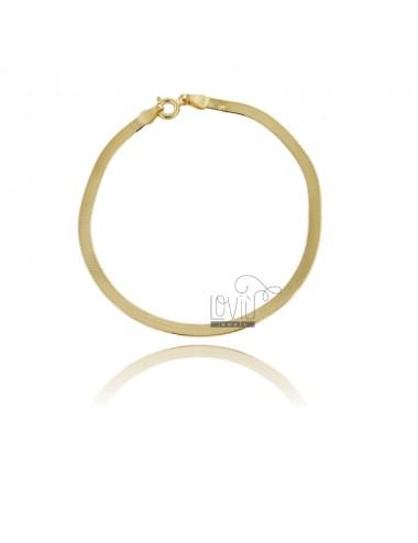 Esel-rücken-armband 3 mm...
