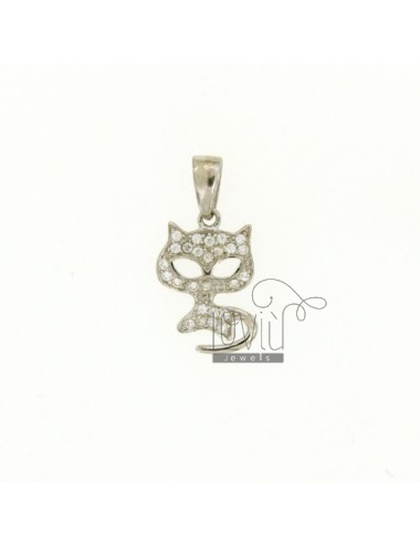 KITTY CHARM 17x11 MM IN AG...