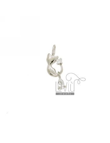 KITTY CHARM 20X8 MM IN AG...