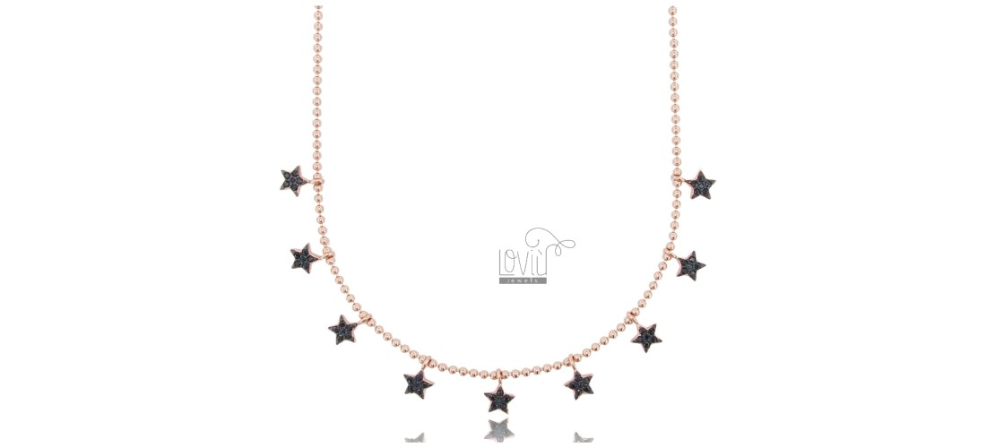 Necklaces with Zircons