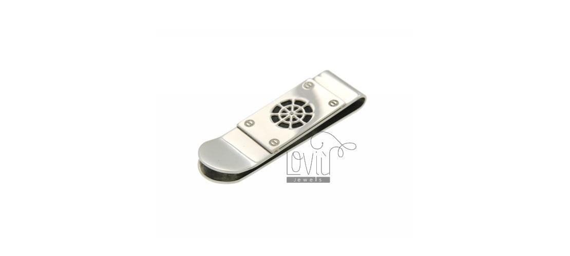 Steel money clip