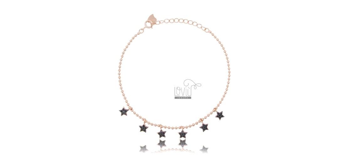 Bracelets with Zircons