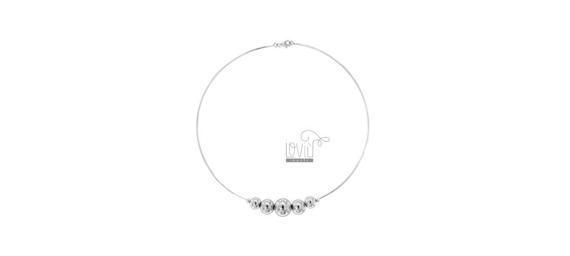 Rigid necklaces